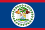 Nationalflagge Belize