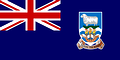 Nationalflagge Falklandinseln
