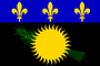 Nationalflagge Guadeloupe