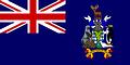 NationalflaggeSüdgeorgien und die Südlichen Sandwichinseln