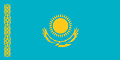 Nationalflagge Kasachstan