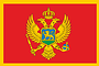 Nationalflagge Montenegro