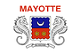 Nationalflagge Mayotte