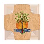 Holzkreuz Lebensbaum