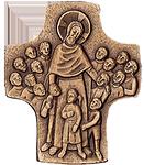 Jesus der Kinderfreund Kommunionkreuz