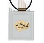 Blattgold in Acrylglas