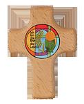 Holzkreuz BrotdesLebens