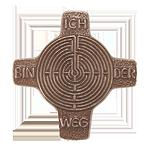 Weg - Labyrinth Kommunionkreuz
