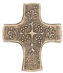 Weinstock Kommunionkreuz