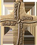 Durch Jesus sind wir verbunden Kommunionkreuz