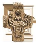 Emmaus-Jünger Kommunionkreuz