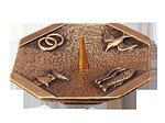 4 Symbole mit Gravurfläche