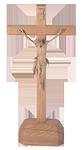 Stehkreuz aus Holz