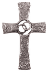 Ehekreuz aus Silberbronze