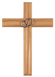 Ehekreuz aus Holz